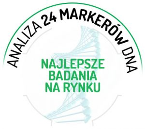 Analiza 24 markerów DNA