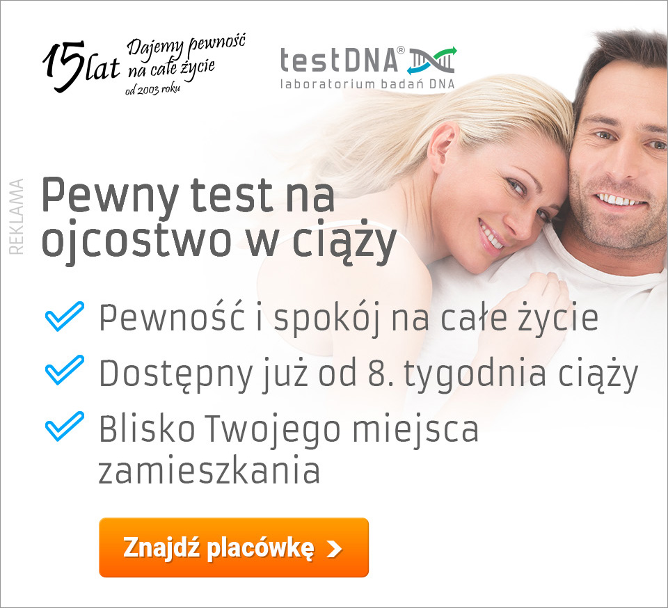 test na ojcostwo w ciąży baner